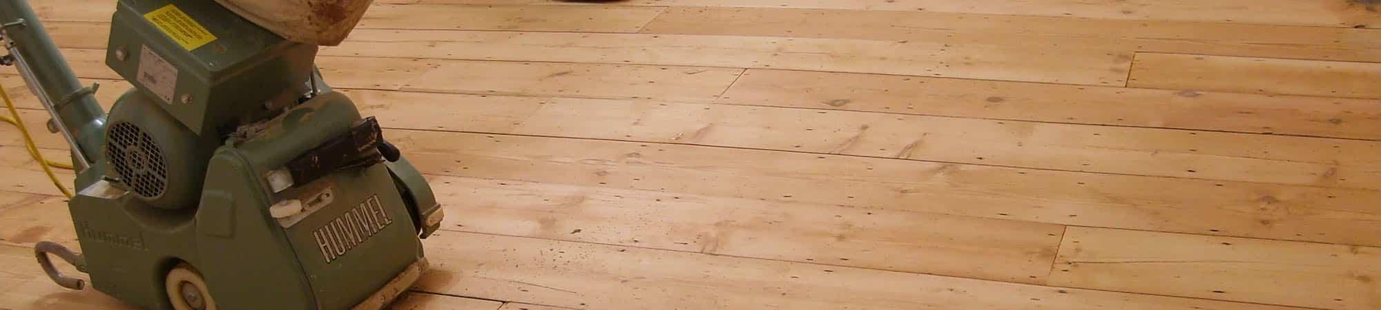 sanding your floor